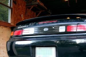 S14 Kouki Faded Taillight Restore to Black