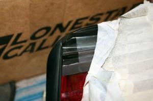 S14 Faded Kouki Taillight Restore to Black Test