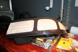 S14 Faded Kouki Taillight Restore to Black Masking Tape
